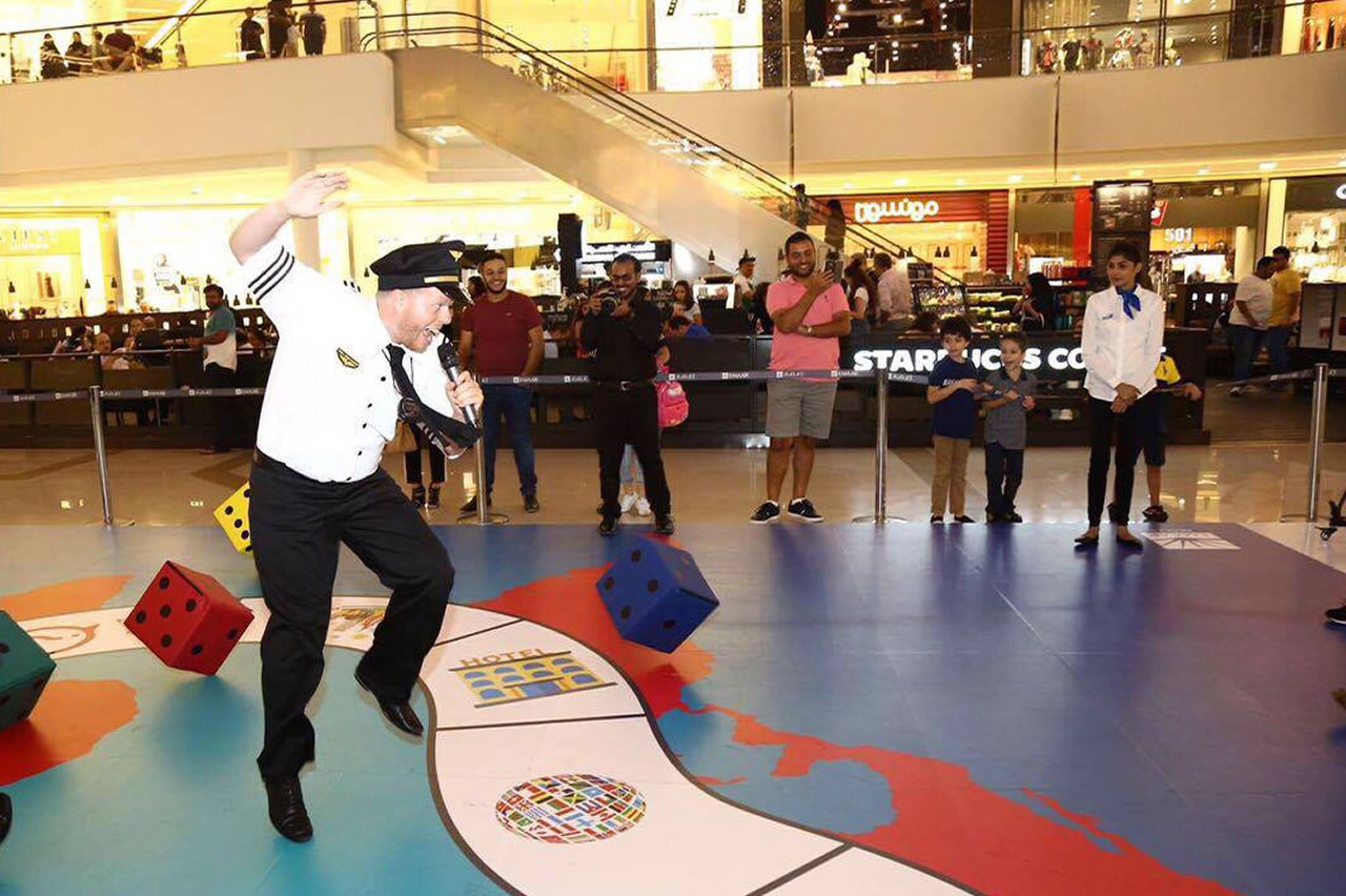 Eid Gameshow at Dubai Marina Mall